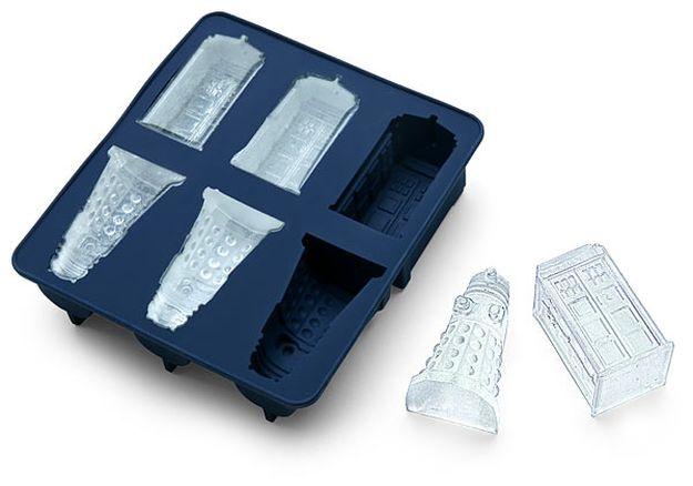 Dr Who Silicon Ice Cube Tray
