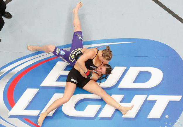 Rousey vs Davis   Insane Ronda Rousey Fight Highlights!