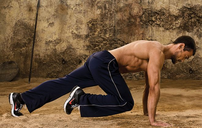 Get Ripped Workout Routine For Men The Spartacus